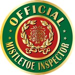Official Mistletoe Inspector Funny Tees Gifts