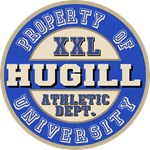Hugill University Athletic Dept Tees Gifts