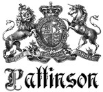 Pattinson Vintage Name Family Crest Tees Gifts