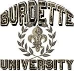 Burdette Last Name University T-shirts Gifts