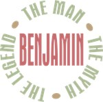 Benjamin Man Myth Legend Tees Gifts