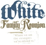 White Personalized Family Reunion Tees Gifts