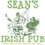 Sean's Vintage Irish Pub Tees Gifts