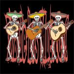 Mariachi Skeleton Trio