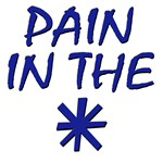 Pain in the *