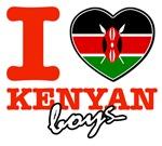 I love Kenyan boys