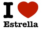 I love Estrella