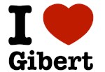 I love Gibert