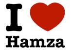 I love Hamza