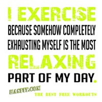 Relaxing Exercise Workout Gear