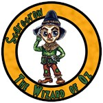 If I only had a brain was the Scarecrow of Oz wish of the Wizard of Oz and in the end he gets some intelligence.  A great tshirt, button or gift for any wizard of oz fan.
