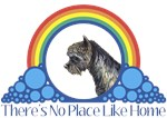 With all the colors of the rainbow, this Wonderful Wizard of Oz inspired design capturesToto There's No Place Like Home.  The perfect gift for any Oz fan.