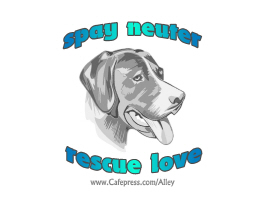 SPAY NEUTER RESCUE LOVE (DOG)