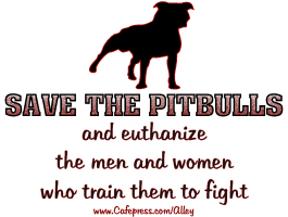 SAVE THE PITBULLS