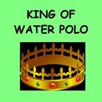 a funny water polo joke on gifts and t-shirts.