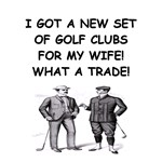 golf humor gifts and t-shirts