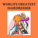 world's greatest hairdresser gifts t-shirts