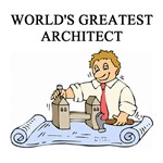 world's greatest architect gifts t-shirts presents