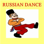 russian dance gifts t-shirts