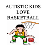 autistic boys baasketball gifts t-shirts