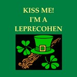 jewish st patrick's day gifts t-shirts