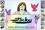 Jacky Logo Sign