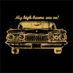 High-Beams Graphic Art T Shirt