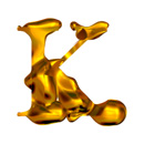 Blown Gold K