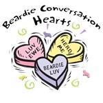 Beardie Conversation Hearts