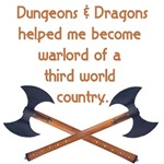 Dungeons and Dragons warlord