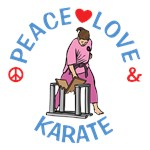 Peace Love Karate Shirts