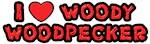 I Love Woody Woodpecker Shirts
