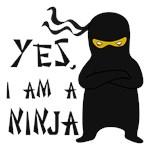 Yes I Am a Ninja Shirts