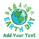 Personalized Earth Day Shirts
