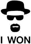 I Won Heisenberg Shirts