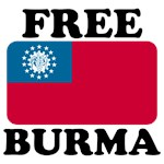 Free Burma T Shirts With Burma Flag