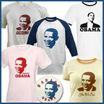 Obama Face T-shirts