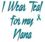Ovarian Cancer Support Nana Shirts