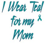 Ovarian Cancer Support Mom Shirts