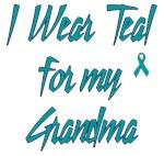 Ovarian Cancer Support Grandma Shirts