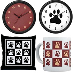 Paw Print Home Decor
