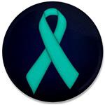 Ovarian Cancer Awareness Ribbon Polo Shirts