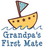 Grandpa's First Mate Kids Clothing