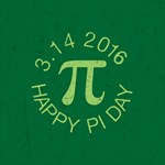 Green Pi Day 2015 Buttons