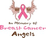 Shirts In Memory Of Breast Cancer Angels