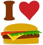 I Heart Cheeseburger T Shirts
