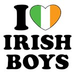I Heart Irish Boys Shirts