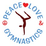 Peace Love Gymnastics Shirts