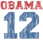Distressed Team Obama Shirt
