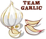 Team Garlic T Shirts